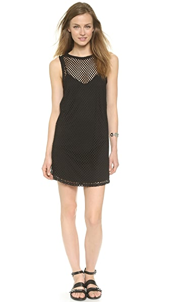 Kupi BB Dakota online i prodaja Bb Dakota Evon Mesh T-Shirt Dress Black haljinu online