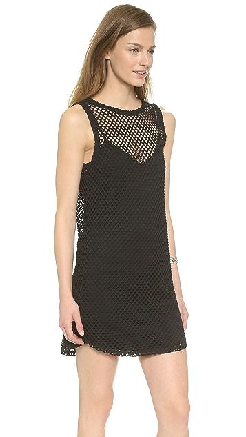 BB Dakota Evon Mesh T-Shirt Dress