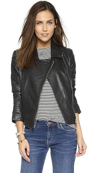 BB Dakota Benton Leather Jacket