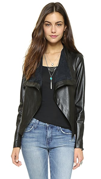 BB Dakota Brody Drapey Jacket