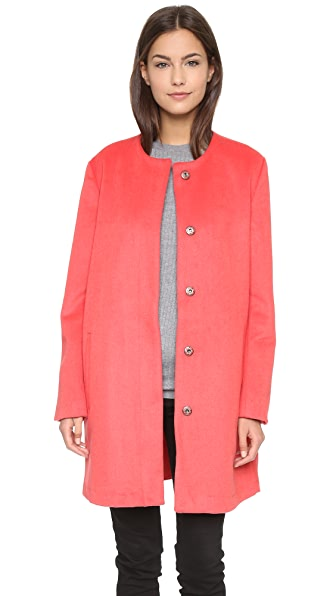 Bb Dakota Catina Coat - Persimmon