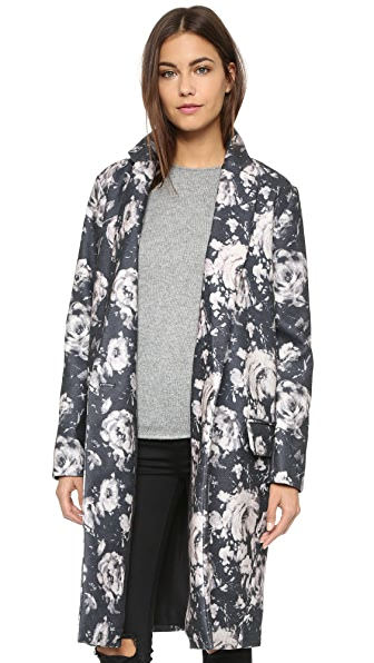BB Dakota Gunievere Floral Duster Coat