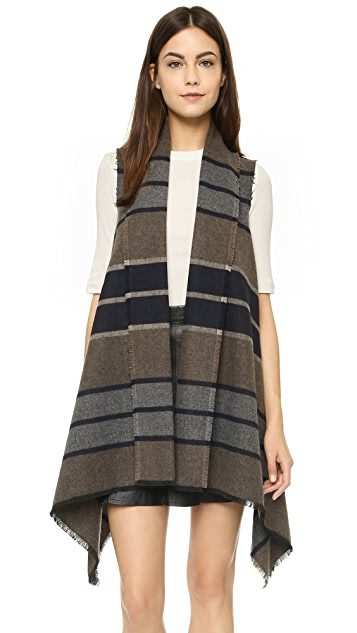 BB Dakota Duncan Wool Blanket Vest