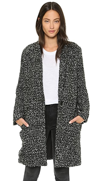 Bb Dakota Donovan Blazer Coat - Black