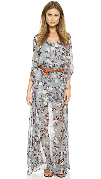 Shop BB Dakota online and buy Bb Dakota Ekko Fable Flower Maxi Dress Multi dresses online