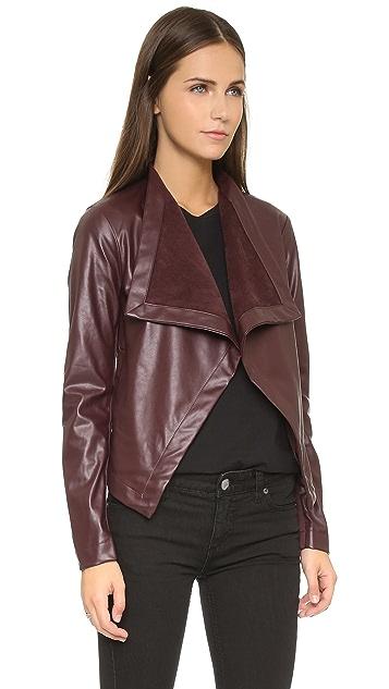 BB Dakota Lillian Drapey Front Jacket