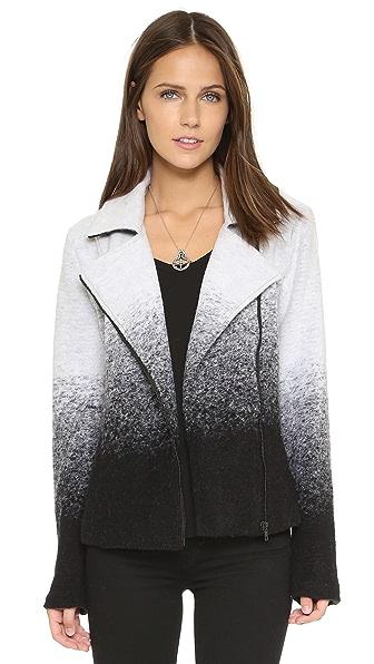 BB Dakota Bell Ombre Moto Jacket