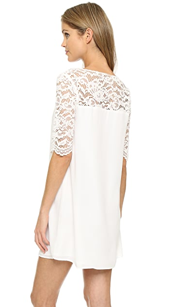 BB Dakota Fisher Lace Mini Dress