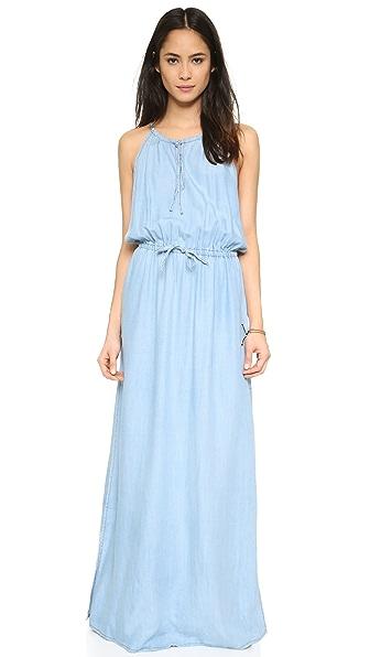 Bb Dakota Kalina Chambray Maxi Dress - Light Blue at Shopbop