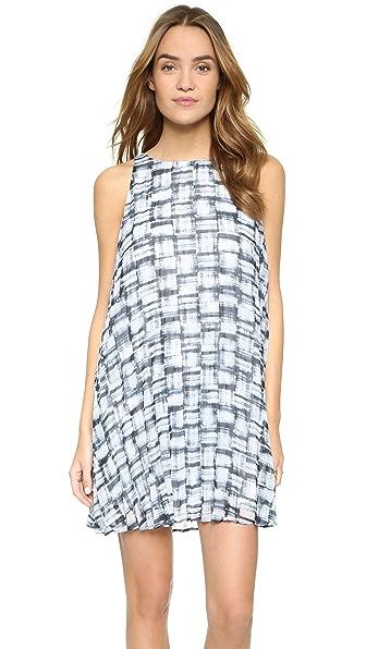 BB Dakota Мини-платье со складками Leah