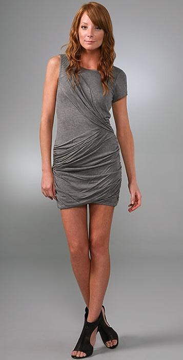 BCBGMAXAZRIA Draped Dress
