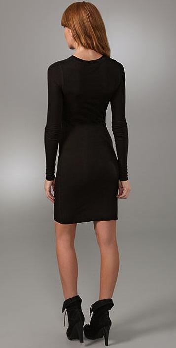 BCBGMAXAZRIA Rib Knit Dress