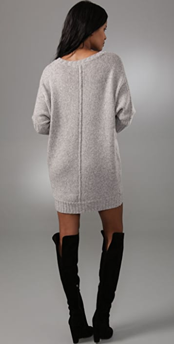 BCBGMAXAZRIA Oversized Sweater Dress