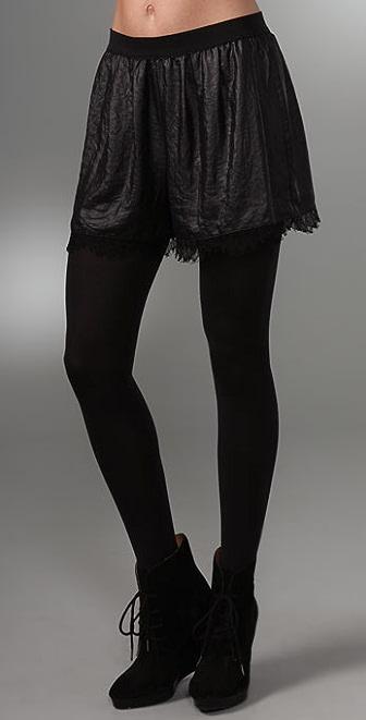BCBGMAXAZRIA Elastic Waist Shorts