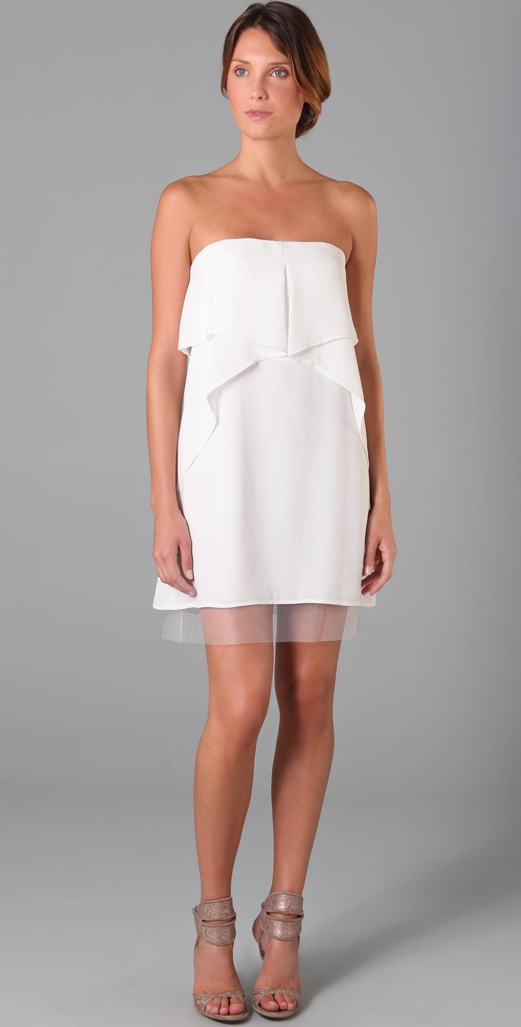 BCBGMAXAZRIA Fei Fei Strapless Dress | SHOPBOP
