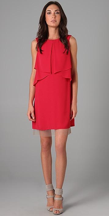 BCBGMAXAZRIA Cardine Sleeveless Dress
