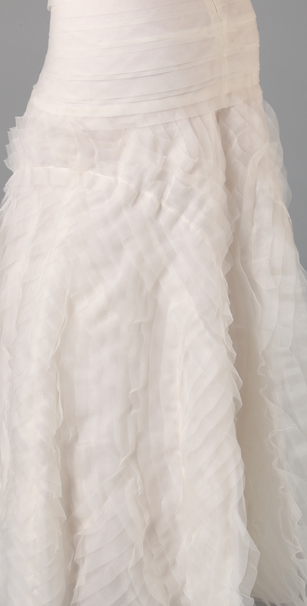 BCBGMAXAZRIA Marisa Layered Bridal Gown | SHOPBOP