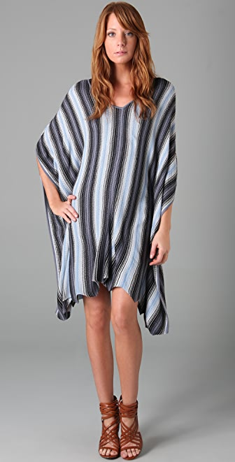 BCBGMAXAZRIA Rosie Striped Dress