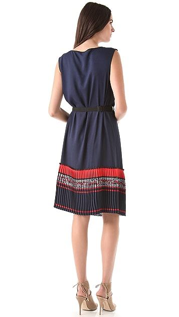 BCBGMAXAZRIA Attica Tile Dress