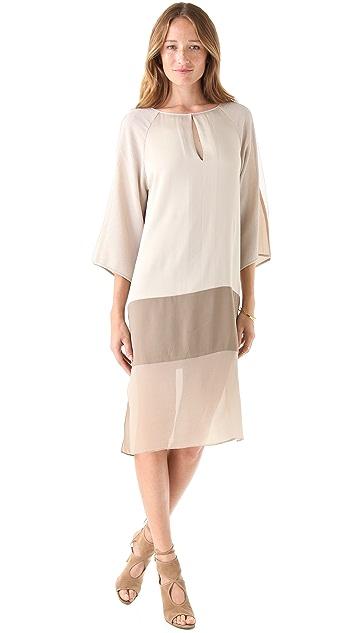 BCBGMAXAZRIA Tilda Colorblock Dress