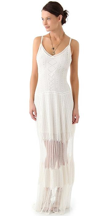 BCBGMAXAZRIA Saffron Pointelle Dress