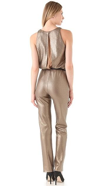 BCBGMAXAZRIA Lowe Sequin Jumpsuit