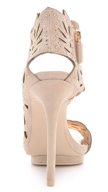 BCBGMAXAZRIA Faricia Suede Sandals