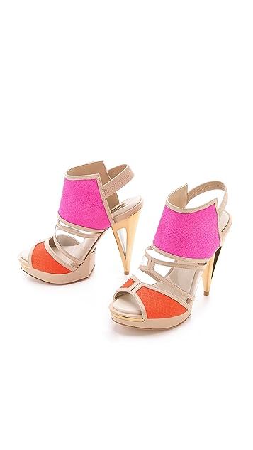 BCBGMAXAZRIA Hex High Heels