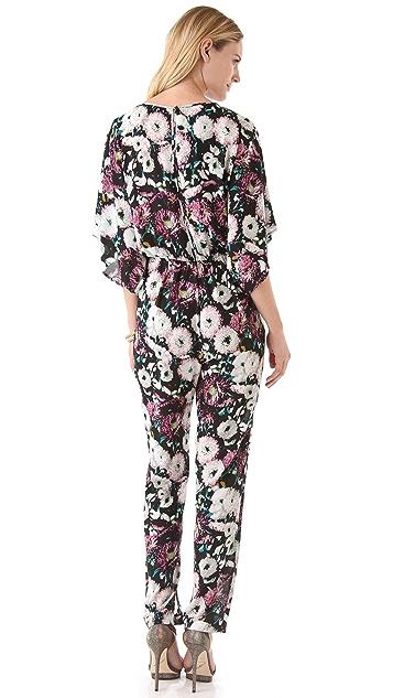 BCBGMAXAZRIA Sianna Floral Jumpsuit