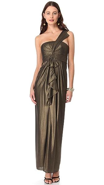 BCBGMAXAZRIA Barbara Shoulder Dress