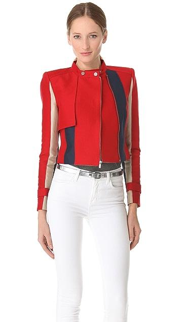 BCBGMAXAZRIA Dixon Colorblock Jacket