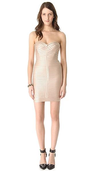BCBGMAXAZRIA Lilli Woven Dress