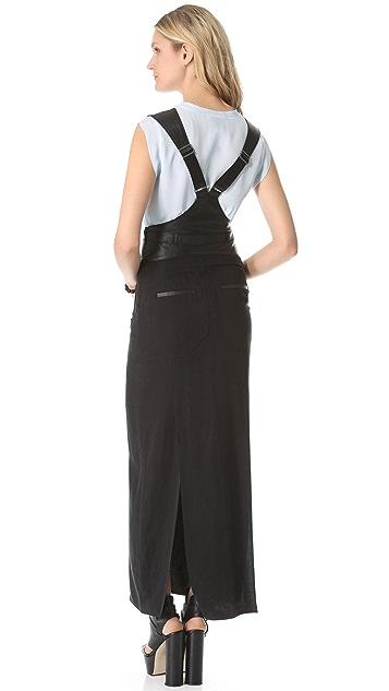 BCBGMAXAZRIA Suspender Jumper