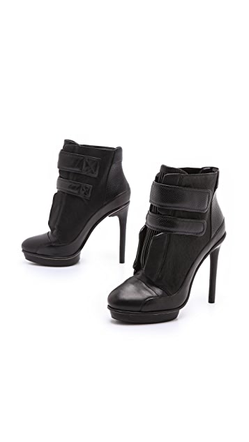 BCBGMAXAZRIA Night Platform Booties