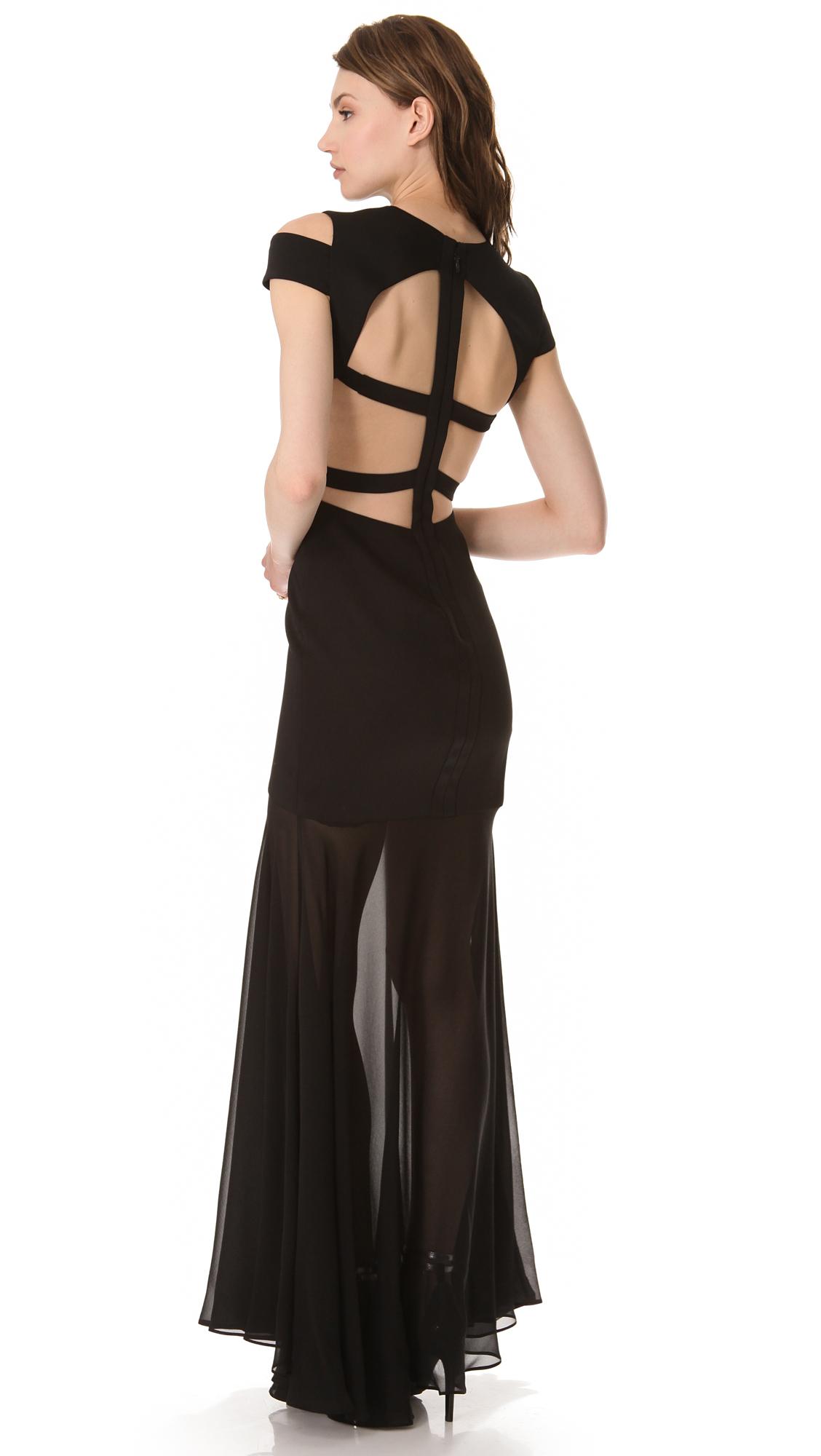 Bcbg black alyce dresses
