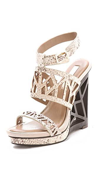 BCBGMAXAZRIA Sato Wedge Sandals