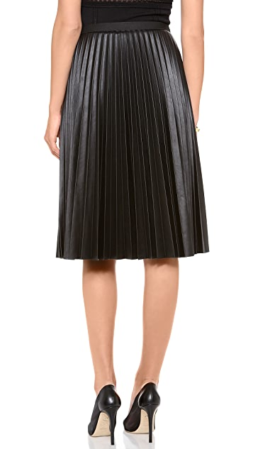 BCBGMAXAZRIA Pleated Skirt