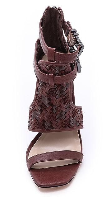 BCBGMAXAZRIA Pixy Ankle Strap Sandals