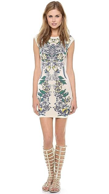 BCBGMAXAZRIA Ellena Printed Dress