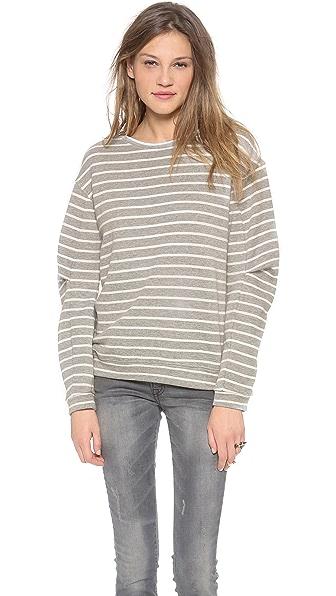 BCBGMAXAZRIA Stripe Pullover