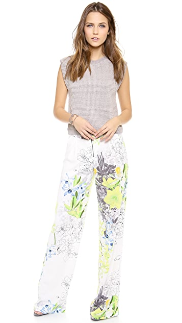 BCBGMAXAZRIA Landon Wide Leg Pants