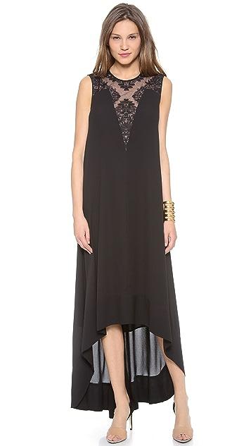 BCBGMAXAZRIA Denisa High Low Dress