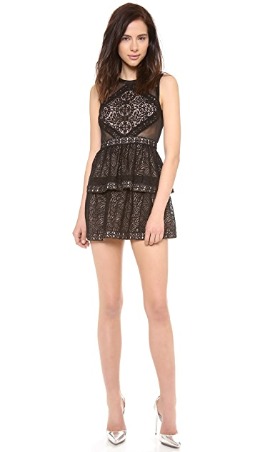 BCBGMAXAZRIA Joselyn Peplum Dress