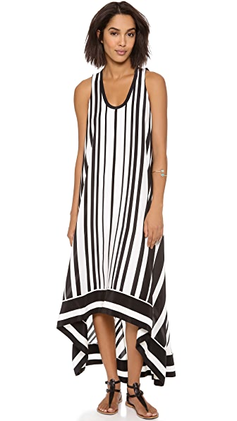 BCBGMAXAZRIA Gia Stripe Dress