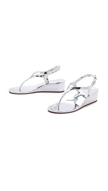 BCBGMAXAZRIA Silva Wedge Jelly Sandals