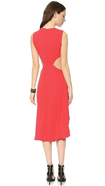 BCBGMAXAZRIA Victoria Side Cutout Dress