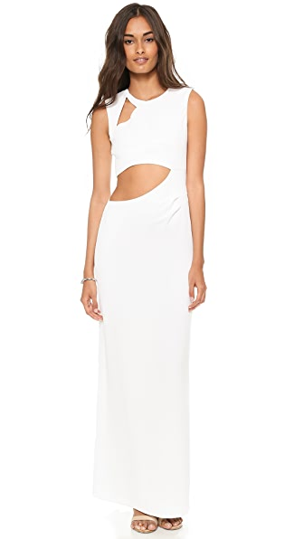 BCBGMAXAZRIA Kimora Slash Gown