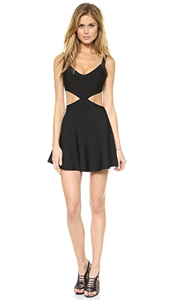 BCBGMAXAZRIA Elyzabeth Cutout Dress