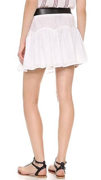 BCBGMAXAZRIA Lourdes Elastic Skirt