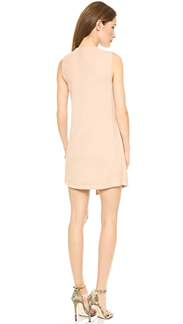 BCBGMAXAZRIA Tayler Asymmetrical Dress